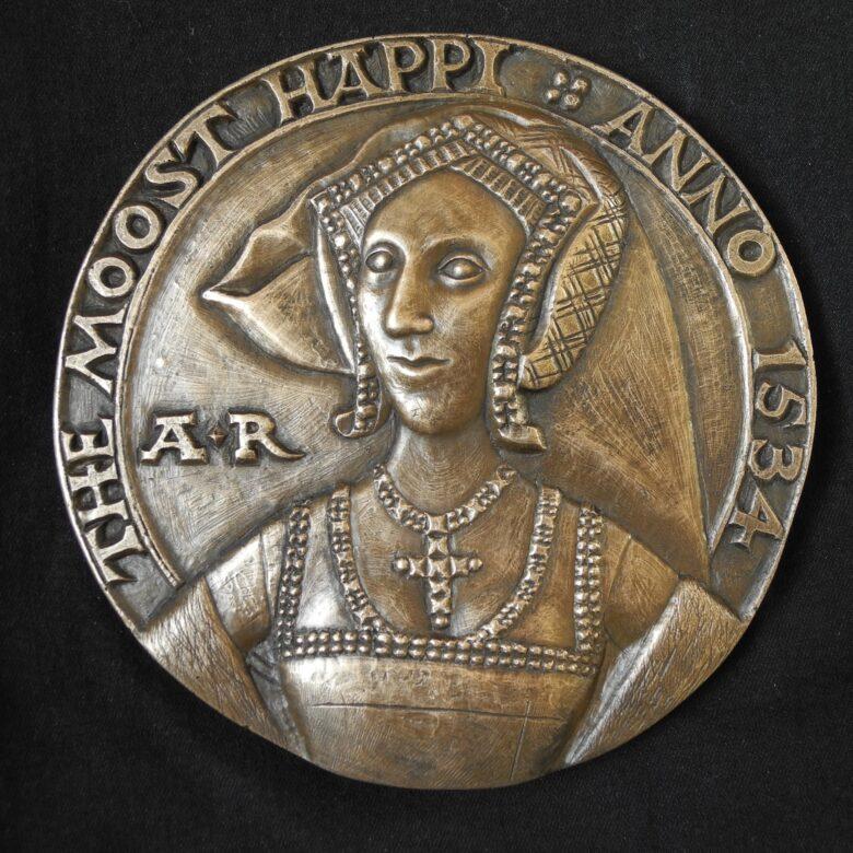 Anne Boleyn Moost Happiu Medal Reconstruction